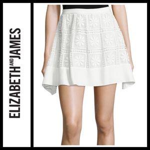Elizabeth and James Bianca Floral Skirt NWT